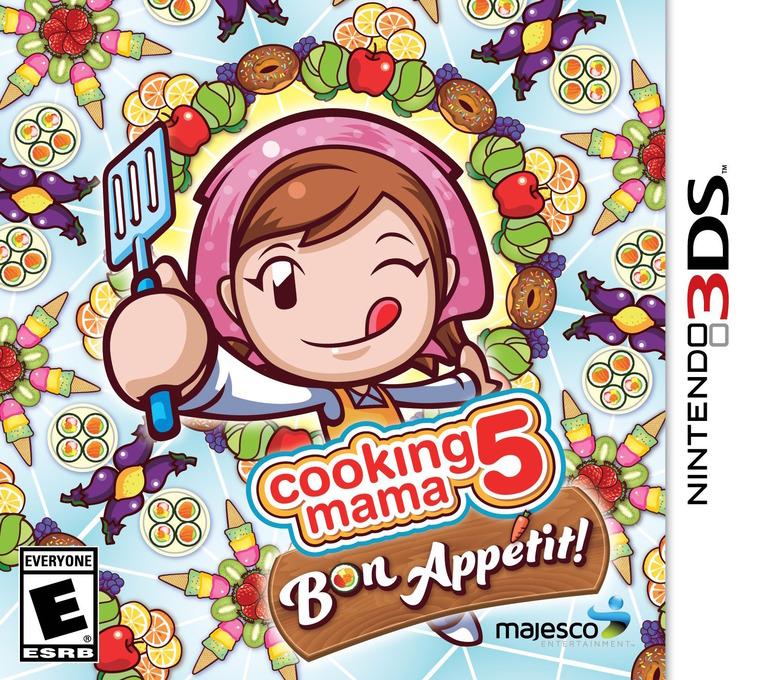 Cooking Mama 5 - Bon Appetit! 3DS coverHQ (BC5E)