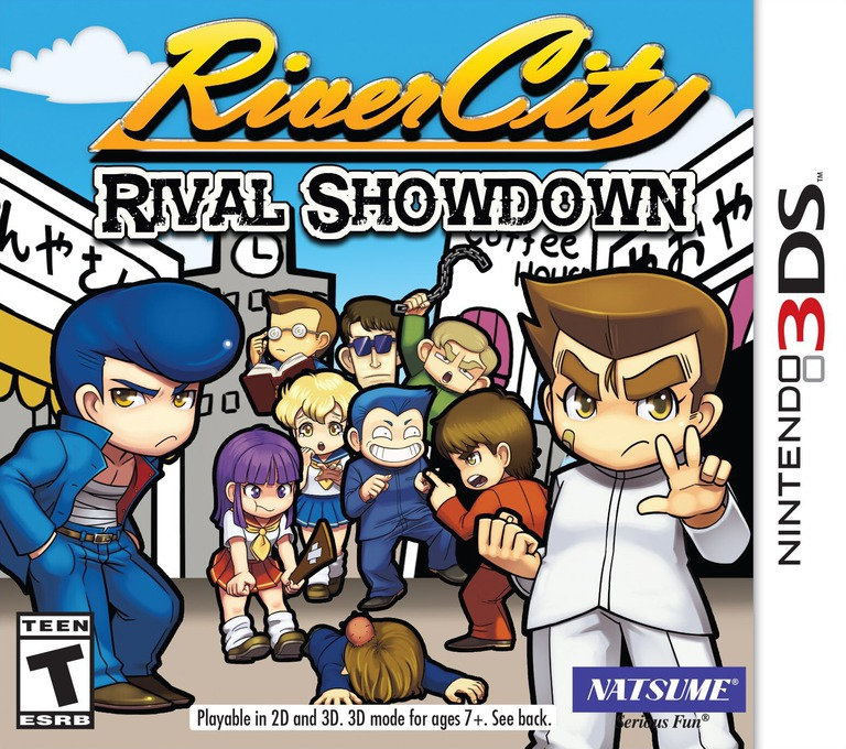 River City: Rival Showdown 3DS coverHQ (BDJE)