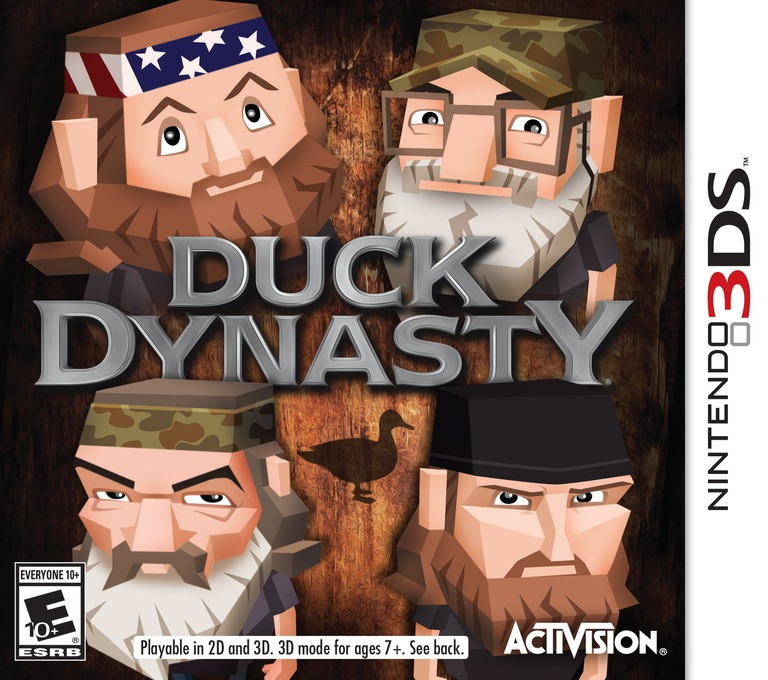 Duck Dynasty 3DS coverHQ (BDKE)