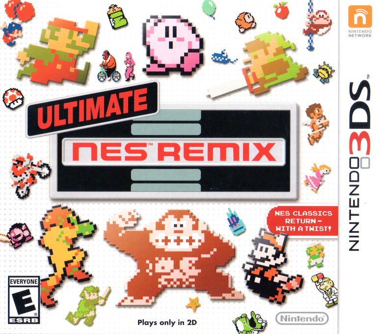 Ultimate NES Remix 3DS coverHQ (BFRE)