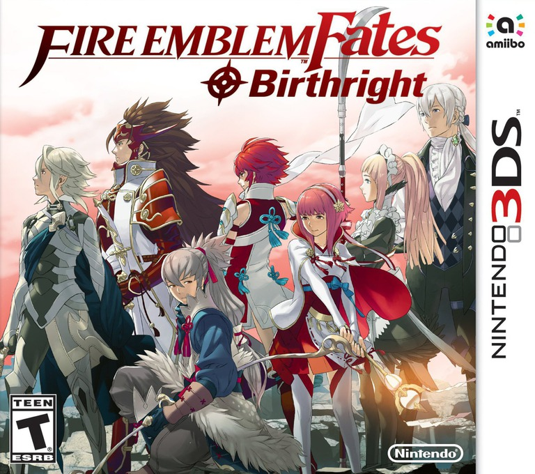 Fire Emblem Fates - Birthright 3DS coverHQ (BFXE)