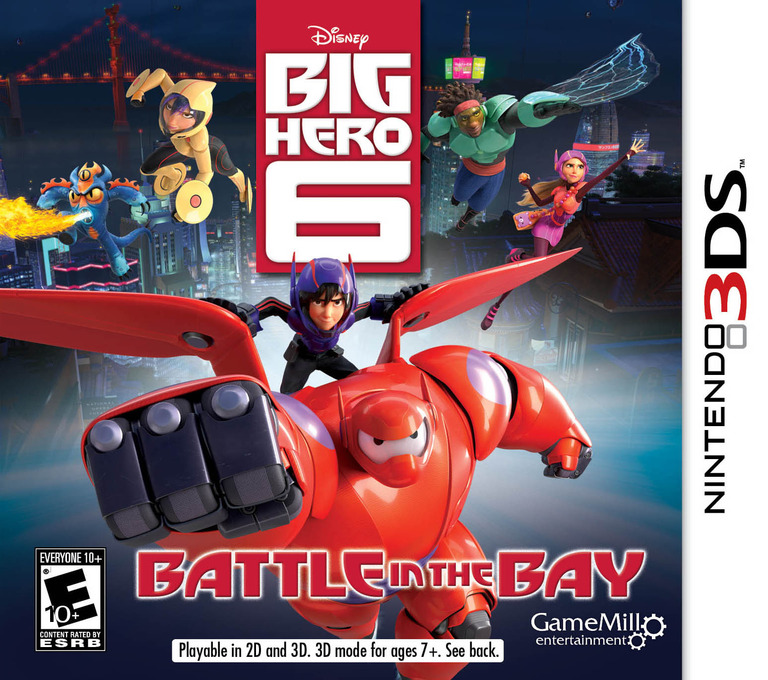 Big Hero 6 - Battle in the Bay 3DS coverHQ (BH6E)