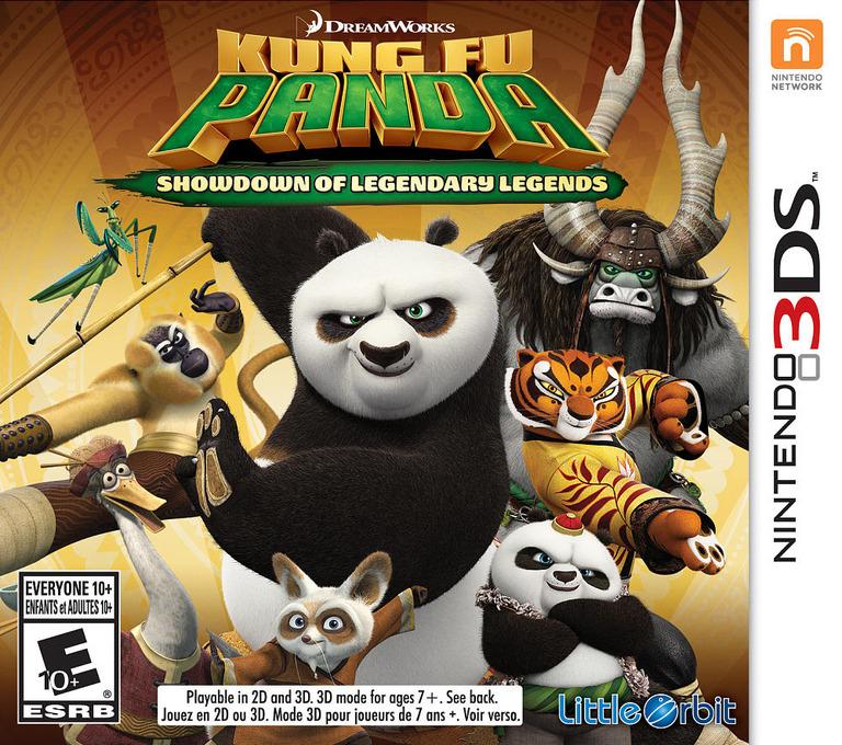 Kung Fu Panda: Showdown of Legendary Legends 3DS coverHQ (BKFE)