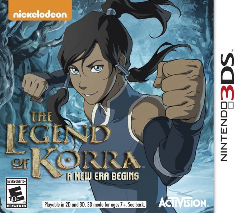 The Legend of Korra - A New Era Begins 3DS coverHQ (BLDE)