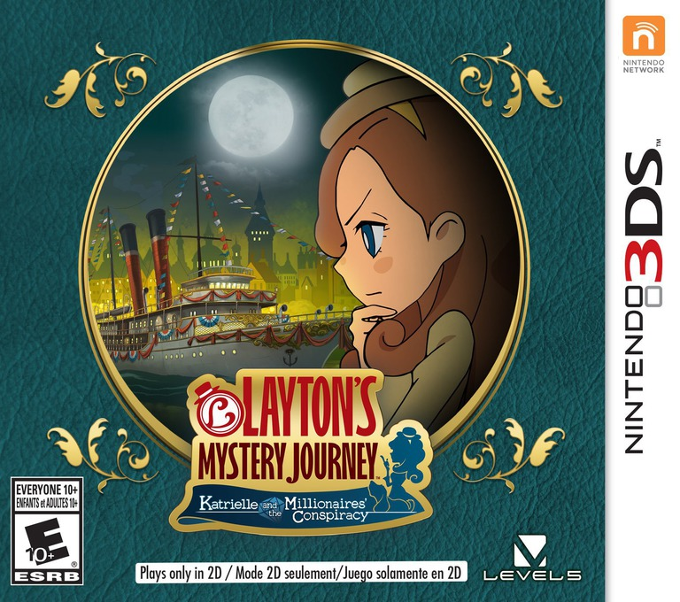 Layton's Mystery Journey: Katrielle and the Millionaires' Conspiracy 3DS coverHQ (BLFE)