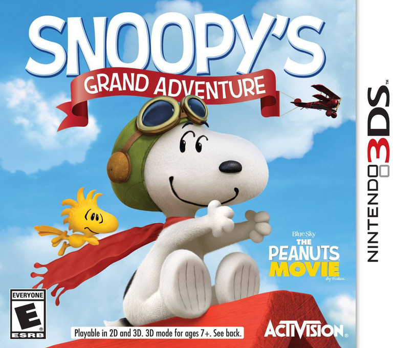 The Peanuts Movie - Snoopy's Grand Adventure 3DS coverHQ (BPEE)