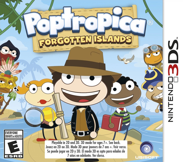 Poptropica - Forgotten Islands 3DS coverHQ (BPFE)