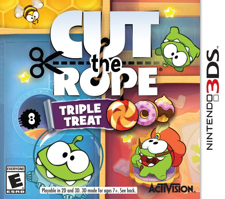Cut the Rope - Triple Treat 3DS coverHQ (BR3E)