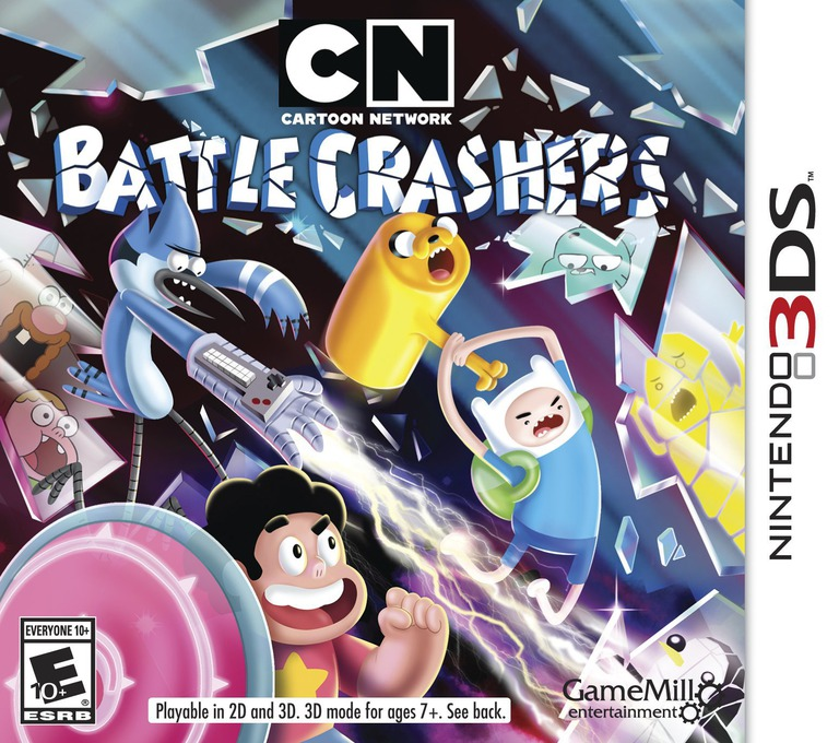 Cartoon Network - Battle Crashers 3DS coverHQ (BRWE)