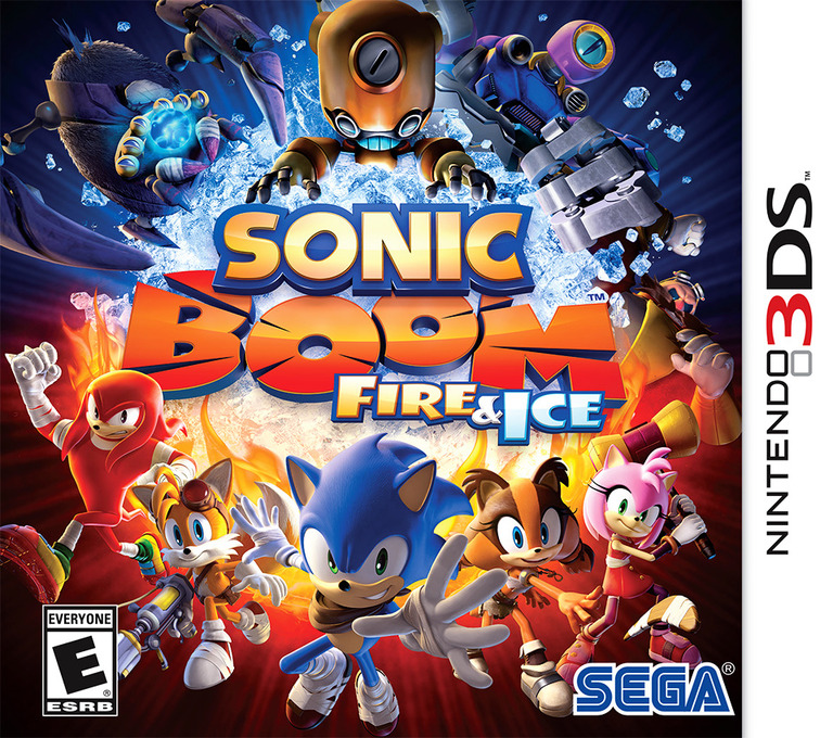 Sonic Boom: Fire & Ice 3DS coverHQ (BS6E)