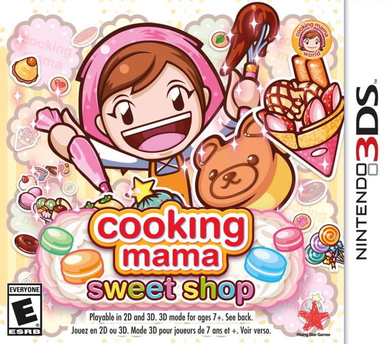 Cooking Mama: Sweet Shop 3DS coverHQ (BS8E)