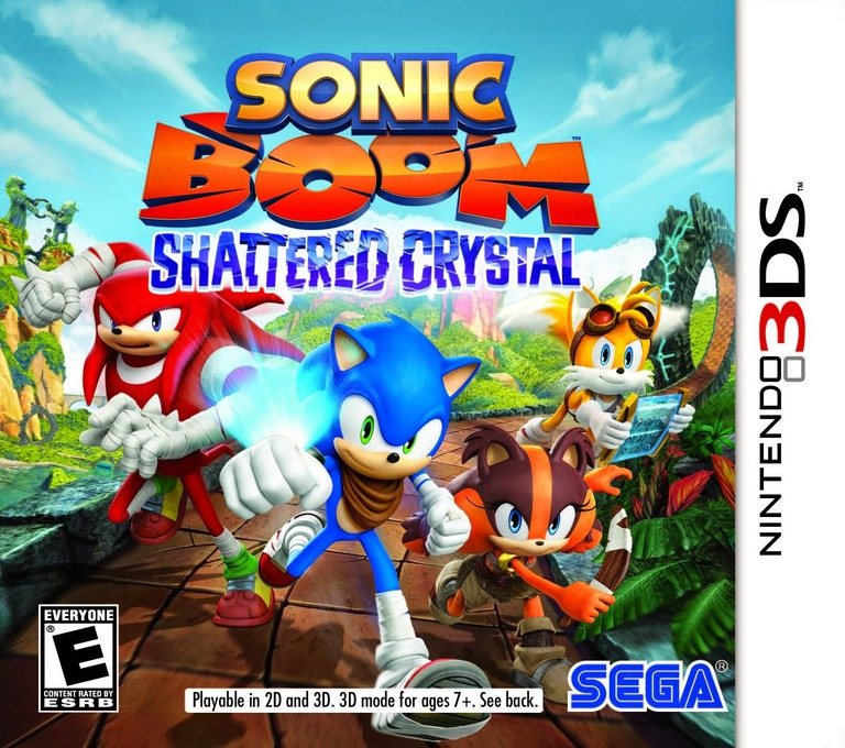 Sonic Boom - Shattered Crystal 3DS coverHQ (BSYE)