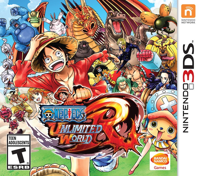 One Piece - Unlimited World Red 3DS coverHQ (BUWE)