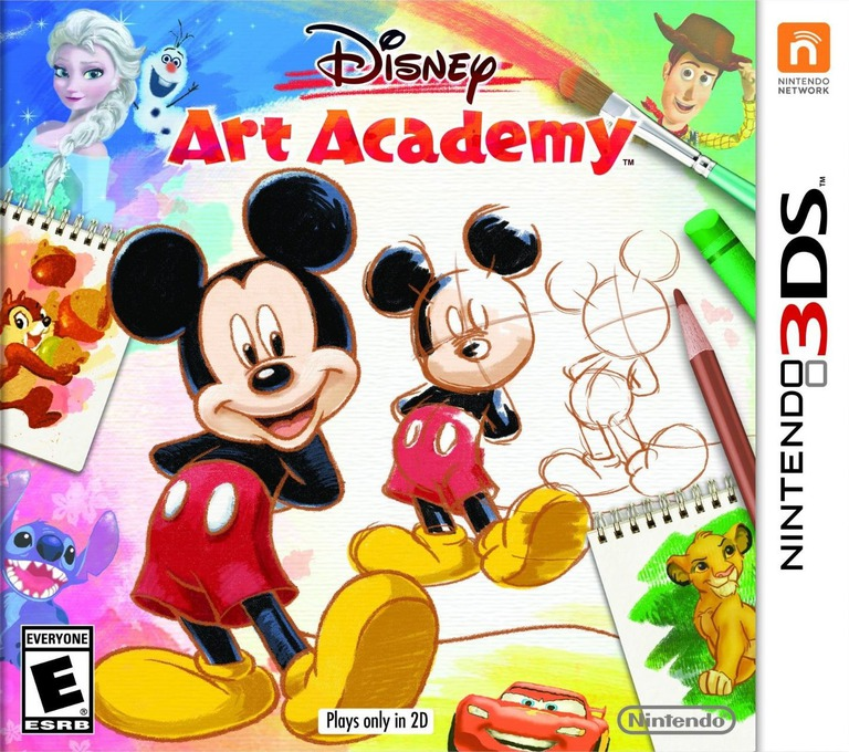 Disney Art Academy 3DS coverHQ (BWDE)