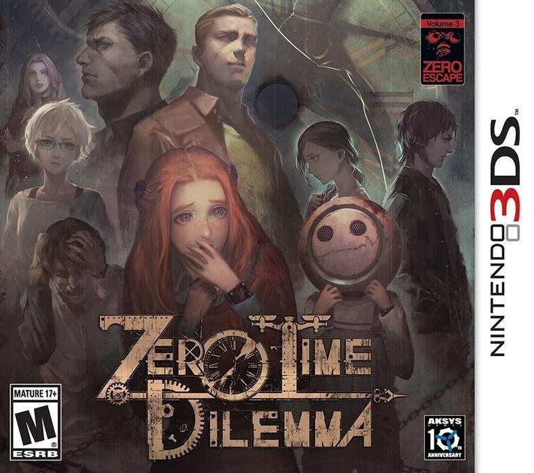 Zero Escape: Zero Time Dilemma 3DS coverHQ (BZEE)