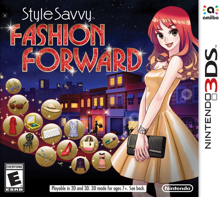 Style Savvy: Fashion Forward 3DS coverHQ (ECDE)