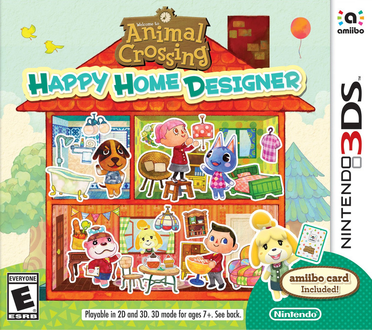 Animal Crossing - Happy Home Designer 3DS coverHQ (EDHE)