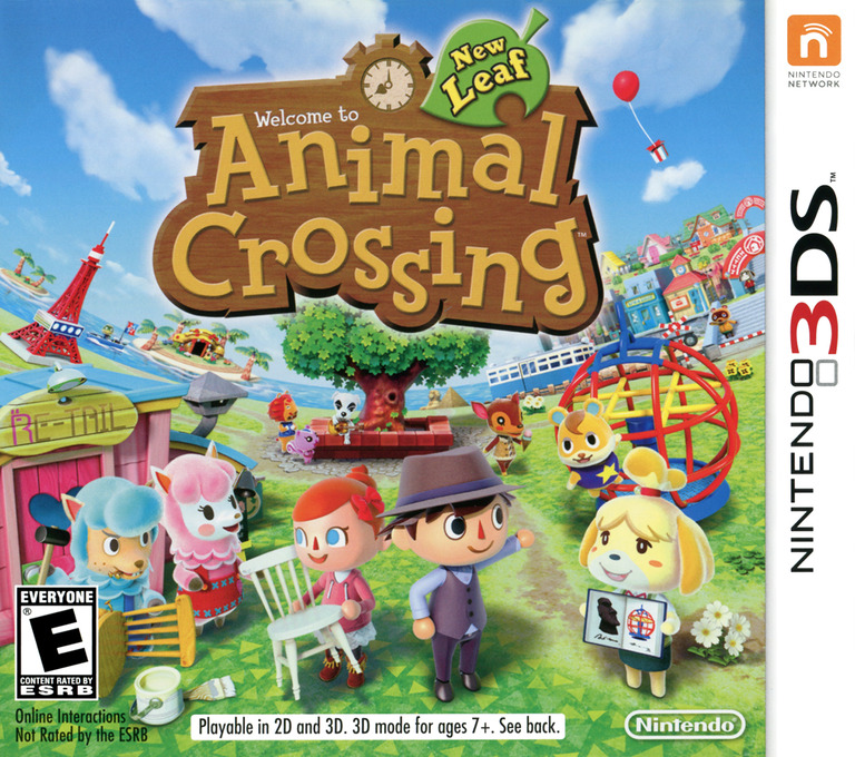 Animal Crossing - New Leaf 3DS coverHQ (EGDE)