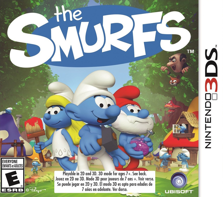 The Smurfs 3DS coverHQ (BUSE)