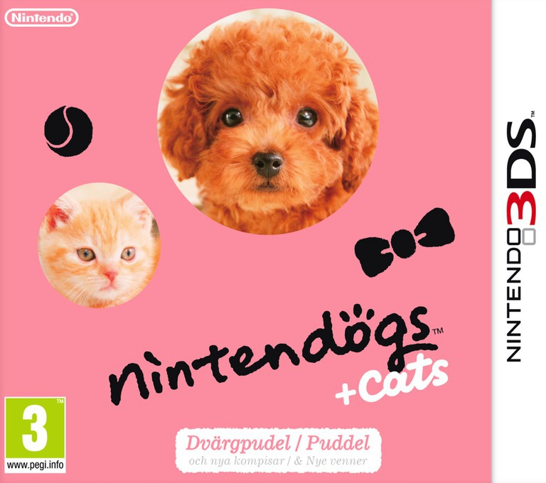Nintendogs + Cats - Puddel & Nye venner 3DS coverHQ2 (ADCP)