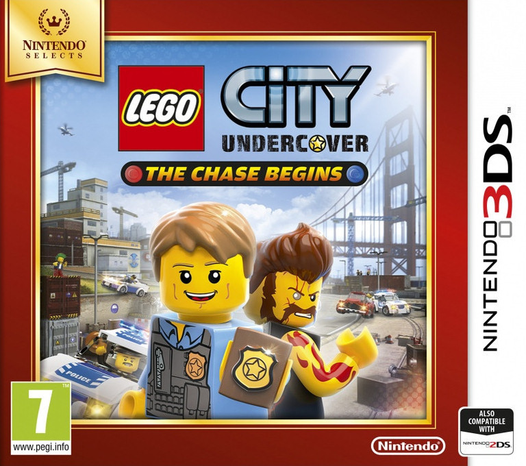 LEGO City Undercover - The Chase Begins 3DS coverHQ2 (AA8P)