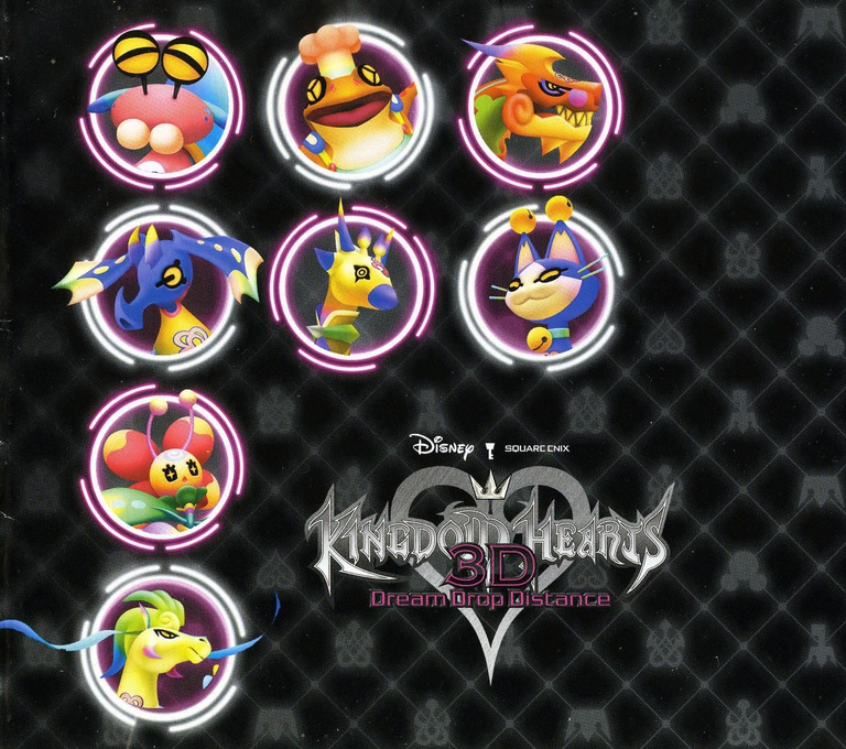 Kingdom Hearts 3D - Dream Drop Distance 3DS coverHQ2 (AKHP)