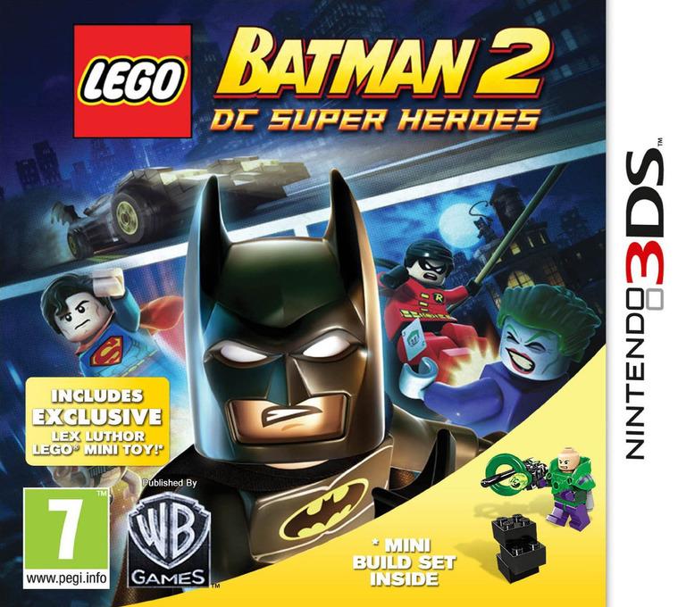LEGO Batman 2 - DC Super Heroes 3DS coverHQ2 (ALBP)