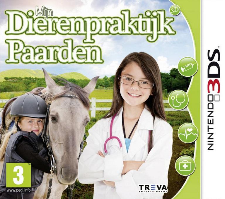 Mijn Dierenpraktijk Paarden 3D 3DS coverHQ2 (BP9P)