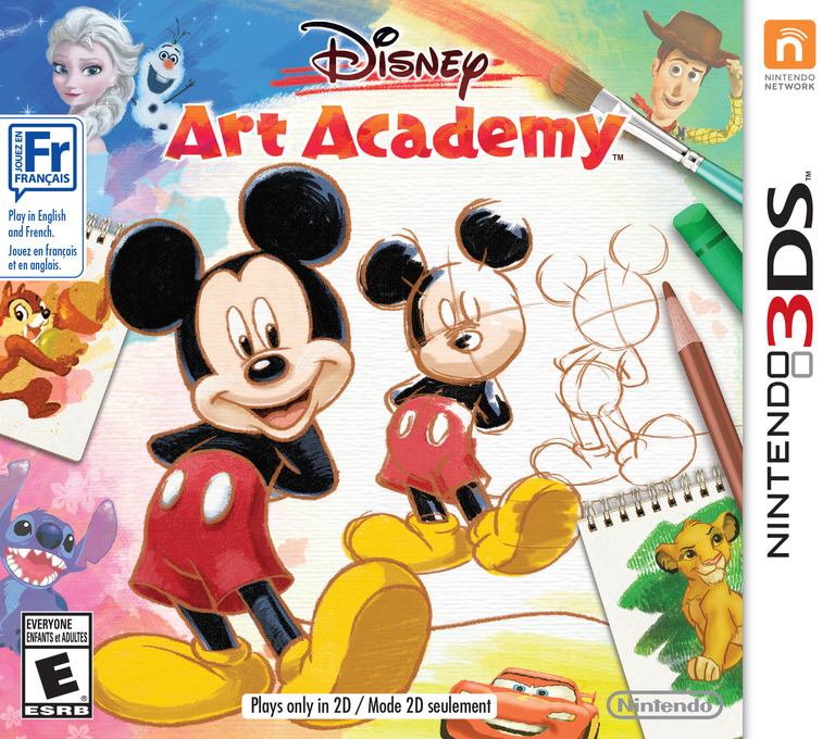 Disney Art Academy 3DS coverHQ2 (BWDE)