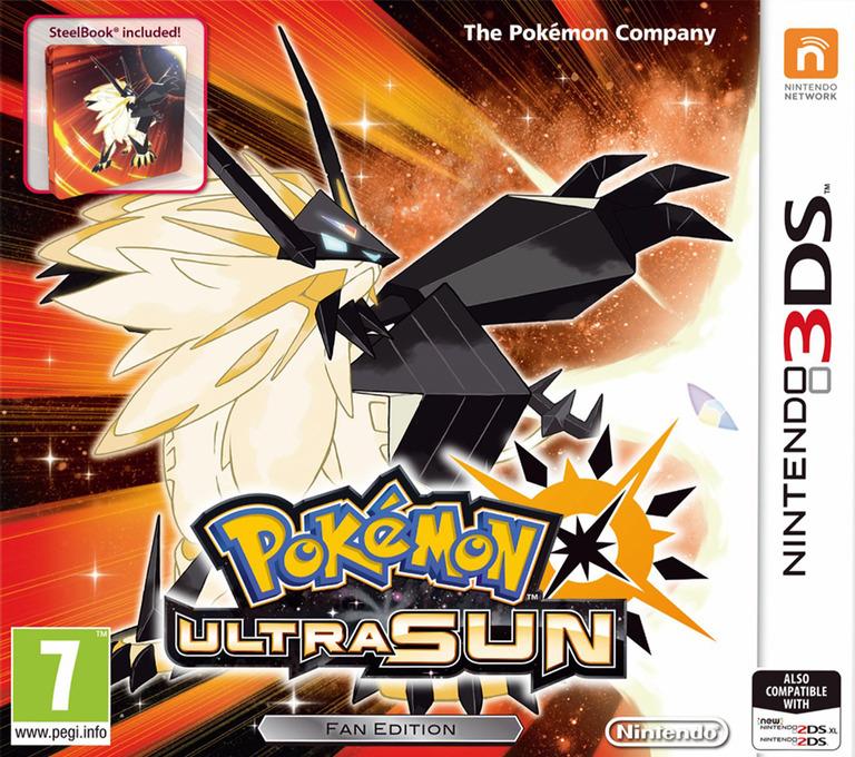 Pokémon Ultra Sun 3DS coverHQB (A2AP)