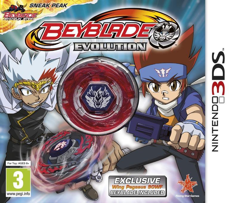 Beyblade - Evolution 3DS coverHQB (ARXP)
