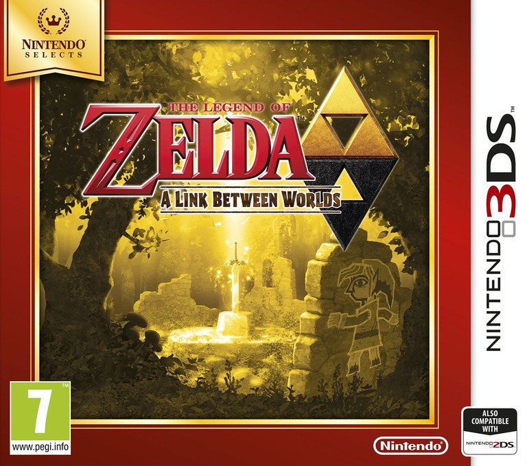 The Legend of Zelda - A Link Between Worlds 3DS coverHQB (BZLP)
