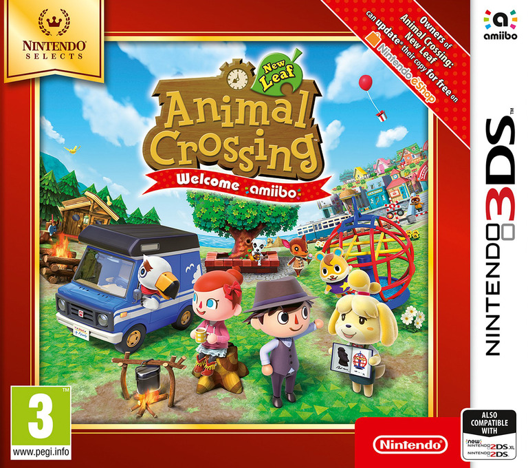 Animal Crossing: New Leaf - Welcome amiibo 3DS coverHQB (EAAP)