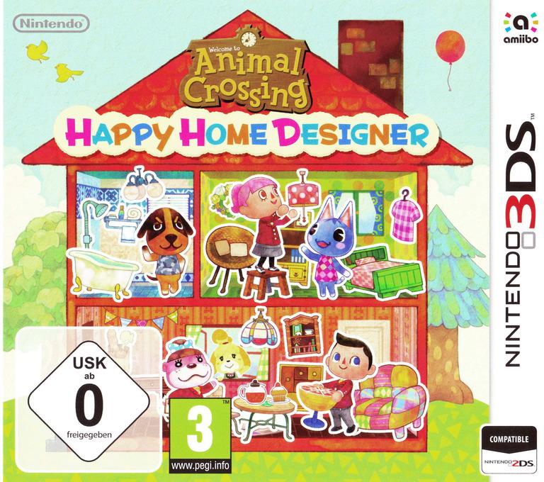 Animal Crossing - Happy Home Designer 3DS coverHQB (EDHP)
