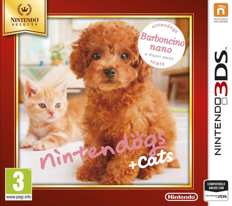 Nintendogs + Cats - Barboncino nano & Nuovi amici 3DS coverHQB (ADCP)