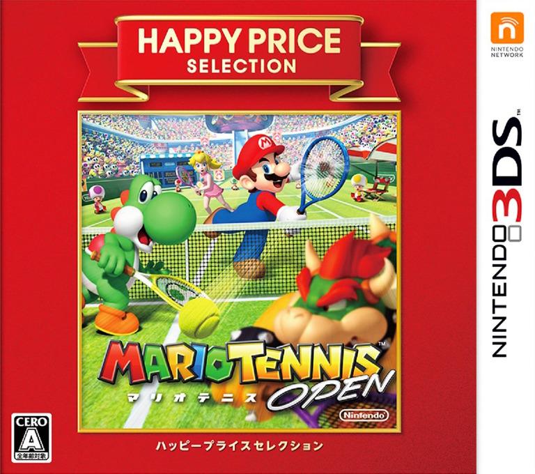 マリオテニス オープン 3DS coverHQB (AGAJ)