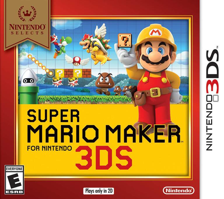 Super Mario Maker for Nintendo 3DS 3DS coverHQB (AJHE)