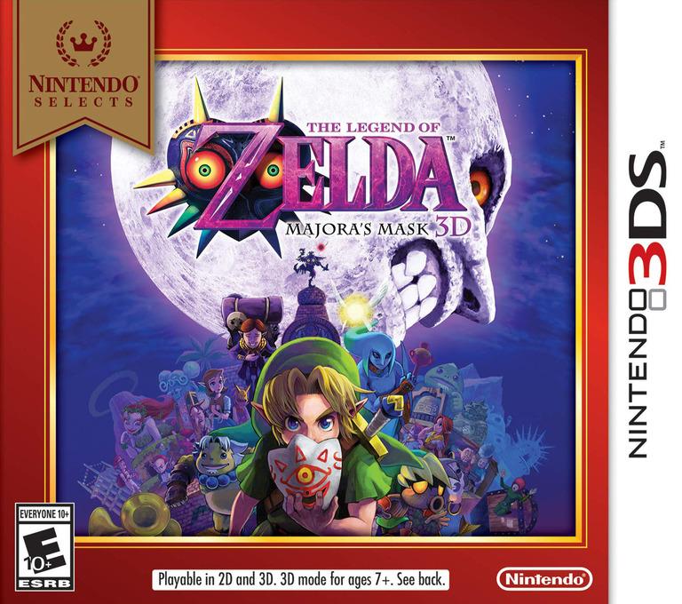The Legend of Zelda - Majora's Mask 3D 3DS coverHQB (AJRE)