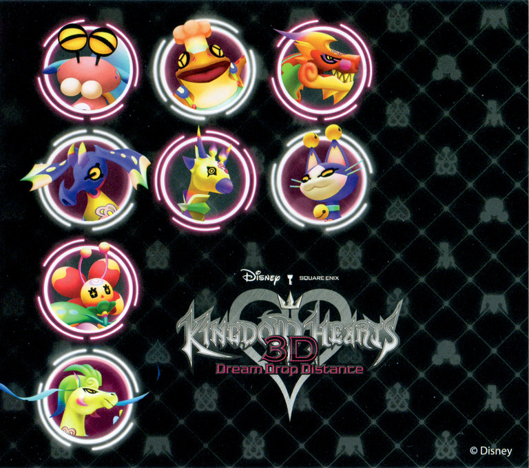 Kingdom Hearts 3D - Dream Drop Distance 3DS coverHQB (AKHE)