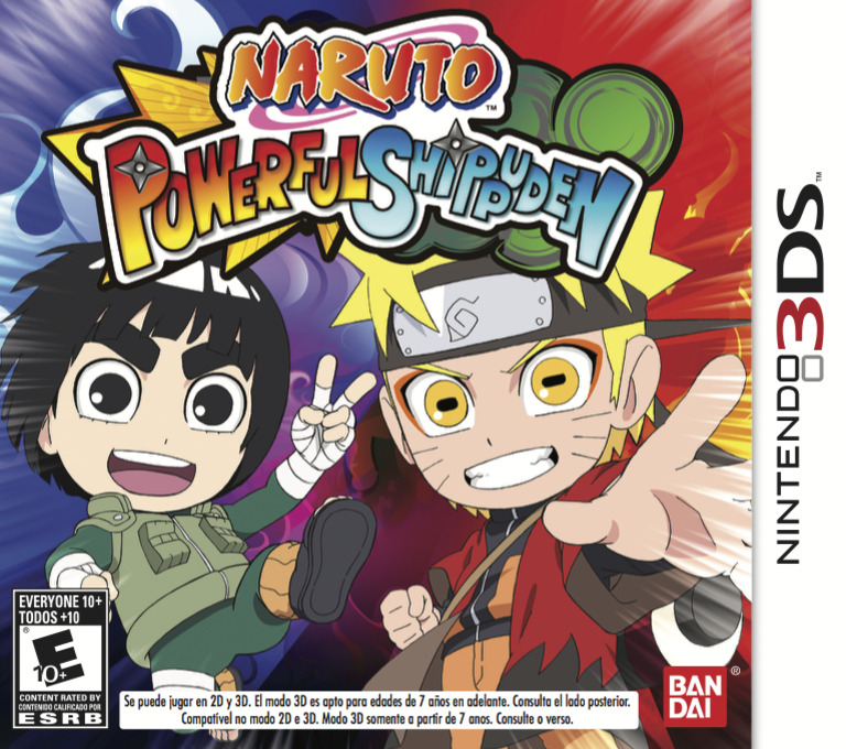 Naruto Powerful Shippuden 3DS coverHQB (AN4E)