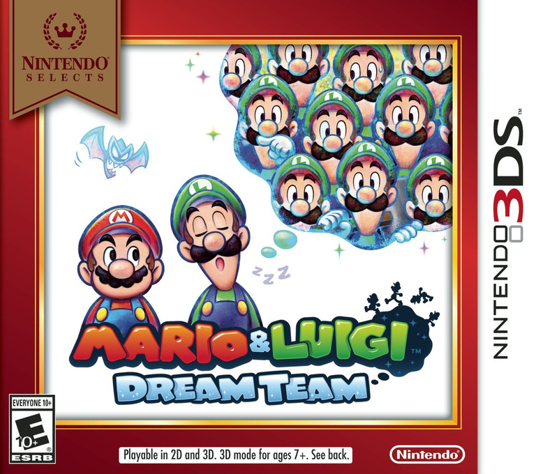 Mario & Luigi - Dream Team 3DS coverHQB (AYME)