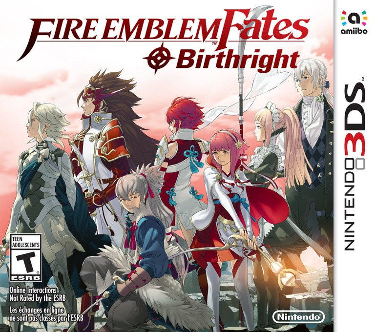 Fire Emblem Fates - Birthright 3DS coverHQB (BFXE)