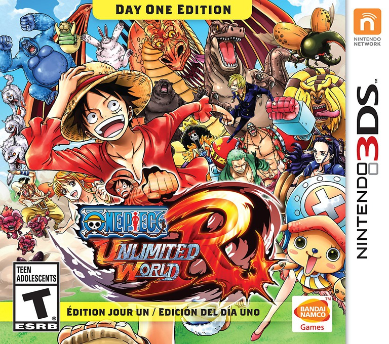 One Piece - Unlimited World Red 3DS coverHQB (BUWE)