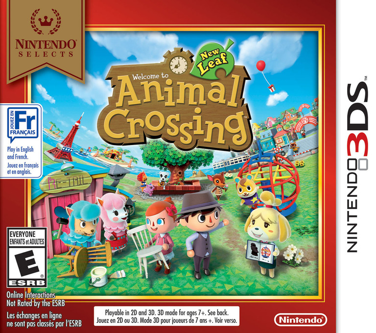 Animal Crossing - New Leaf 3DS coverHQB (EGDE)