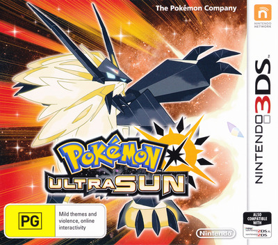 Pokémon Ultra Sun 3DS coverM (A2AP)
