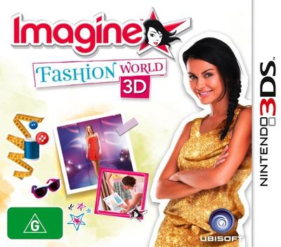 Imagine - Fashion World 3D 3DS coverM (AF3P)