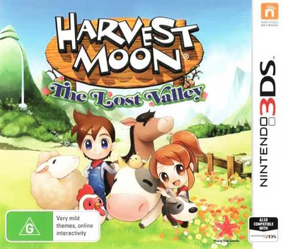 Harvest Moon 3D - The Lost Valley 3DS coverM (AVMP)