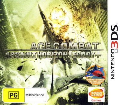 Ace Combat - Assault Horizon Legacy+ 3DS coverM (BCRP)