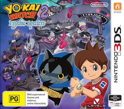 Yo-Kai Watch 2: Psychic Specters 3DS coverM (BYSP)