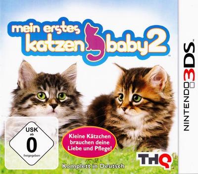 Meine ersten Katzenbabys 2 3DS coverM (AP6P)